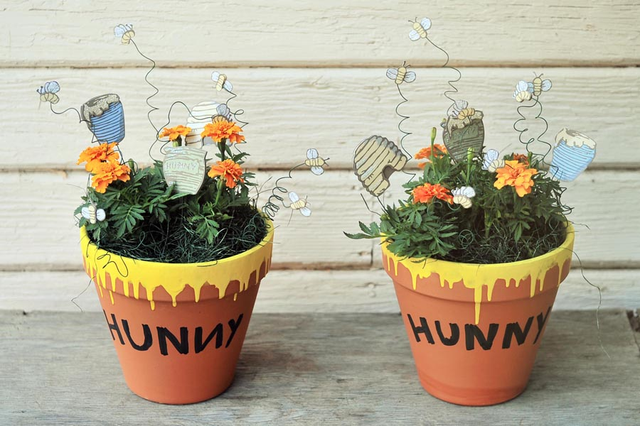 Hunny Pots And Pooh Sticks Winnie The Pooh Baby Shower Decorations