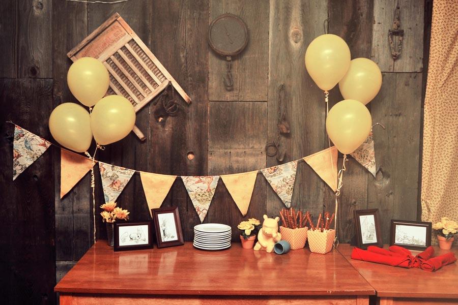 Tessa\'s Winnie the Pooh Themed Baby Shower – Domestic Geek Girl