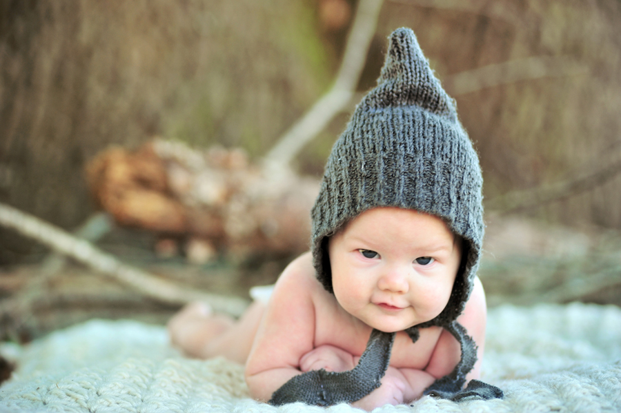 DIY Baby Pixie Hats from Old Sweaters – Domestic Geek Girl
